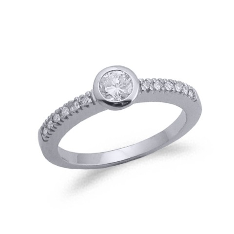 ANELL OR I DIAMANT