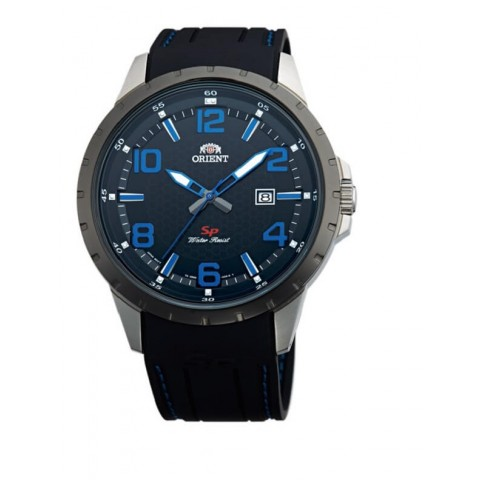 Reloj Orient hombre deportivo negro fung3006